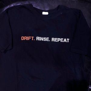 DRIFT. RINSE. REPEAT. tee